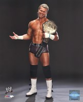 Dolph Ziggler Posing with the World Heavyweight Championship Belt 2013 Fine-Art Print