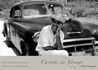 Ricardo With His Chevrolet Fine-Art Print