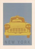 New York - Cab Fine-Art Print