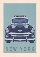 New York - Cop Car Fine-Art Print