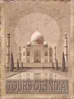 Tours of The East I Fine-Art Print