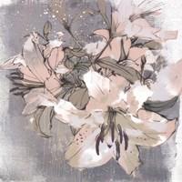 Painted Lilies I Fine-Art Print