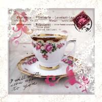Morning Tea I Fine-Art Print