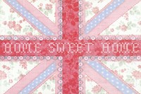 Union Jack, Home Sweet Home Fine-Art Print