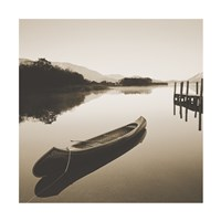 Lake Shore I - Sepia Fine-Art Print