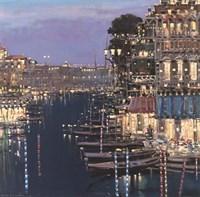Riviera Twilight Fine-Art Print