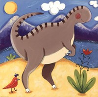 Baby Izzy The Iguanodon Fine-Art Print
