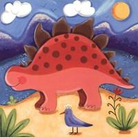 Baby Steggy The Stegosaurus Fine-Art Print