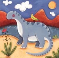 Baby Dippy The Diplodocus Fine-Art Print