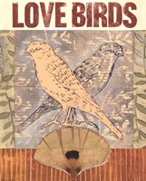 Love Birds I Fine-Art Print