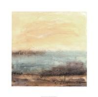 Turquoise Vista I Fine-Art Print