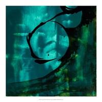 Turquoise Element III Fine-Art Print