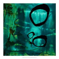 Turquoise Element IV Fine-Art Print