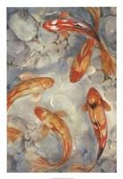 Vibrant Koi II Fine-Art Print