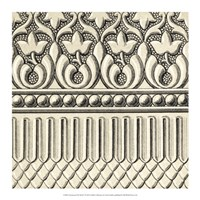 Ornamental Tile Motif V Fine-Art Print
