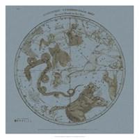 Northern Circumpolar Map Fine-Art Print