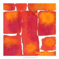Saturated Blocks I Fine-Art Print