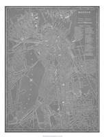 City Map of Boston Fine-Art Print