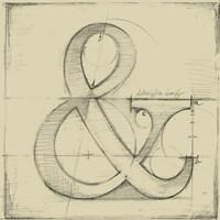 Drafting Symbols II Fine-Art Print