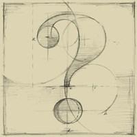 Drafting Symbols V Fine-Art Print