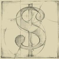 Drafting Symbols VI Fine-Art Print