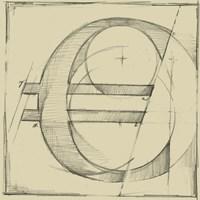 Drafting Symbols VII Fine-Art Print