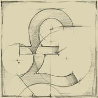 Drafting Symbols VIII Fine-Art Print