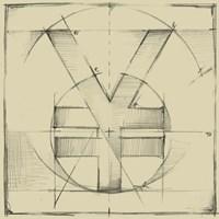 Drafting Symbols IX Fine-Art Print