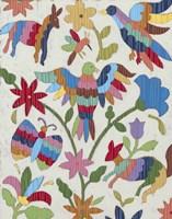 Otomi Embroidery II Fine-Art Print