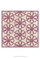Floral Trellis IV Fine-Art Print