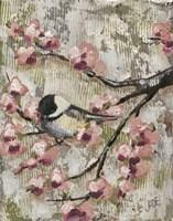 Cherry Blossom Bird II Fine-Art Print