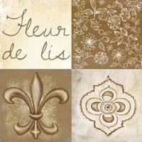 Fleur de Lis Square Fine-Art Print