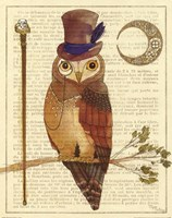 Steampunk Owl II Fine-Art Print