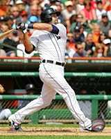Alex Avila batting 2013 Fine-Art Print