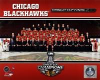 Chicago Blackhawks 2013 NHL Stanley Cup Champions Fine-Art Print