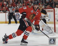 Jonathan Toews Game 5 of the 2013 Stanley Cup Finals Action Fine-Art Print