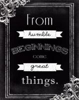 Humble Beginnings Fine-Art Print