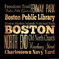 Boston - Square Fine-Art Print