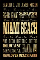 Miami Beach Florida I Fine-Art Print