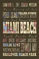 Miami Beach Florida II Fine-Art Print