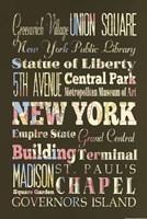 New York Sites II Fine-Art Print