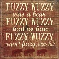 Fuzzy Wuzzy Fine-Art Print