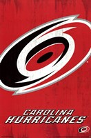 Carolina Hurricanes® - Logo 13 Wall Poster