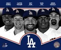 Los Angeles Dodgers 2013 Fine-Art Print
