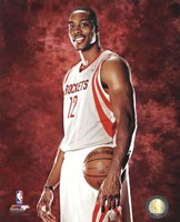 Dwight Howard #12 of the Houston Rockets posed Fine-Art Print