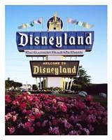 Disneyland in Orange County, California, 1955 Fine-Art Print