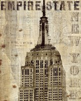 Vintage NY Empire State Building Fine-Art Print