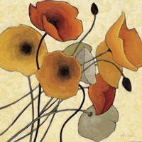 Pumpkin Poppies II Fine-Art Print