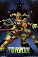 Teenage Mutant Ninja Turtles - Assemble Wall Poster