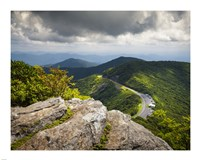 Blue Ridge Parkway Craggy Gardens Scenic Mountains Asheville NC Fine-Art Print